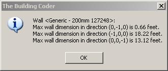 Wall Dimensions